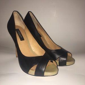 Ann Taylor Cheri Peep Toe Heels